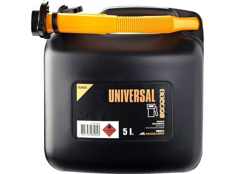 McCulloch Kanystr 5 litrů OLO020 kanystr na benzín