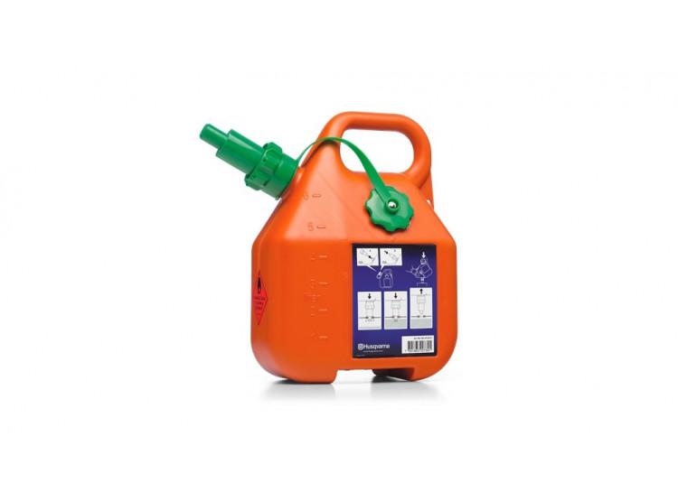 Husqvarna Kanystr 6 litrů oranžový kanystr na benzín