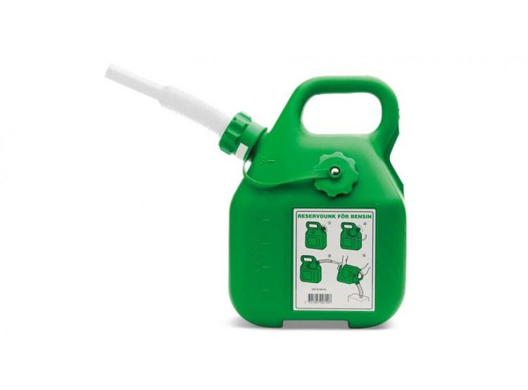 Husqvarna Kanystr 6 litrů zelený kanystr na benzín