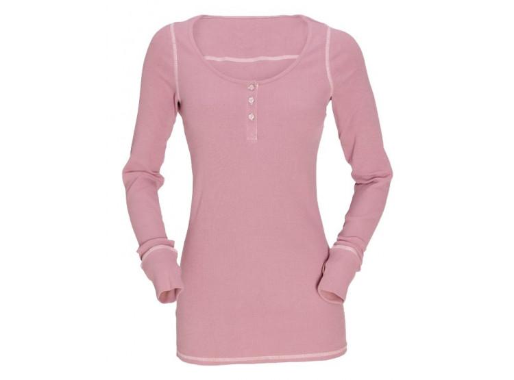 GardenGirl Růžové tričko s dlouhým rukávem