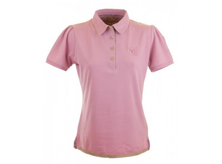 GardenGirl Tričko Polo růžové