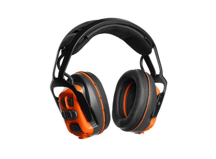 Chrániče sluchu s náhlavním obloukem, BT & FM, X-COM R